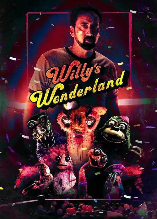دانلود فیلم Willy's Wonderland 2021 سرزمین عجایب ویلی با زیرنویس چسبیده فارسی