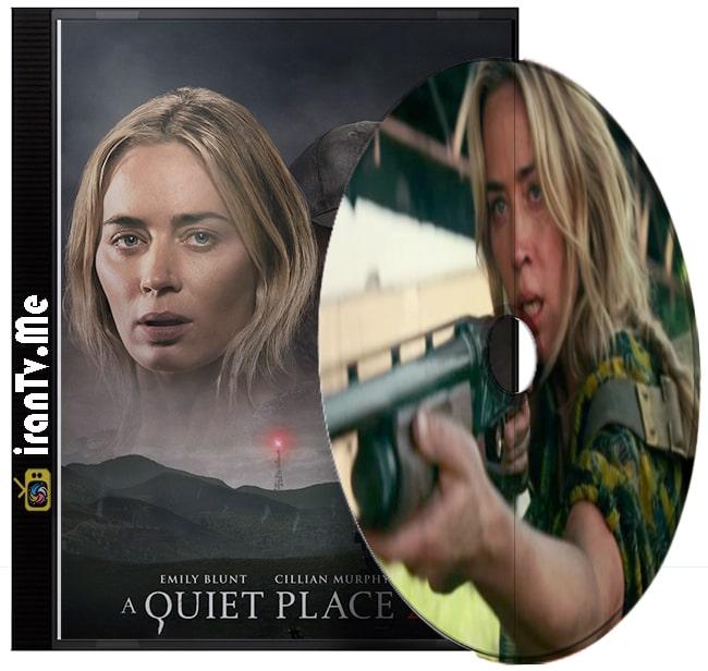 دانلود فیلم A Quiet Place Part 2 2021 یک مکان ساکت بخش 2 با دوبله فارسی