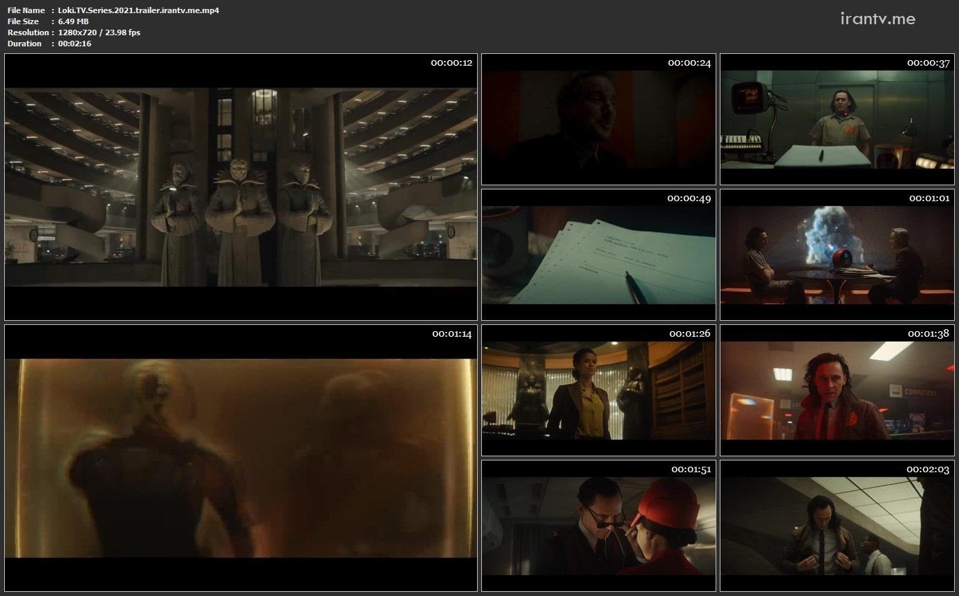 اسکرین شات سریال لوکی 2021